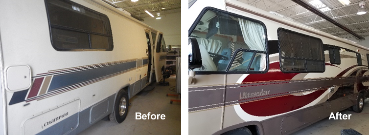 Nano Clear RV before and after